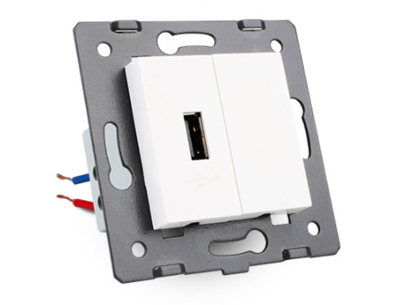 Livolo 1 X Design USB Module | 5V 2100 Mah | 1 Hole