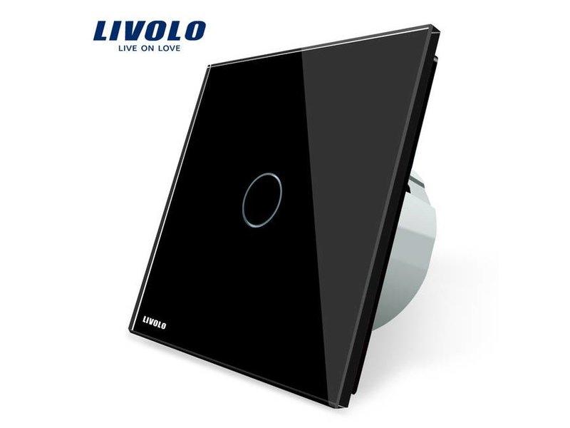 Design Touch Schalter | unipolar | 1-polig | 1 Fach