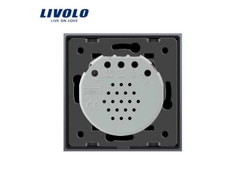 Livolo Design Touch Schakelaar | Serie | 2-polig | 1 Raam
