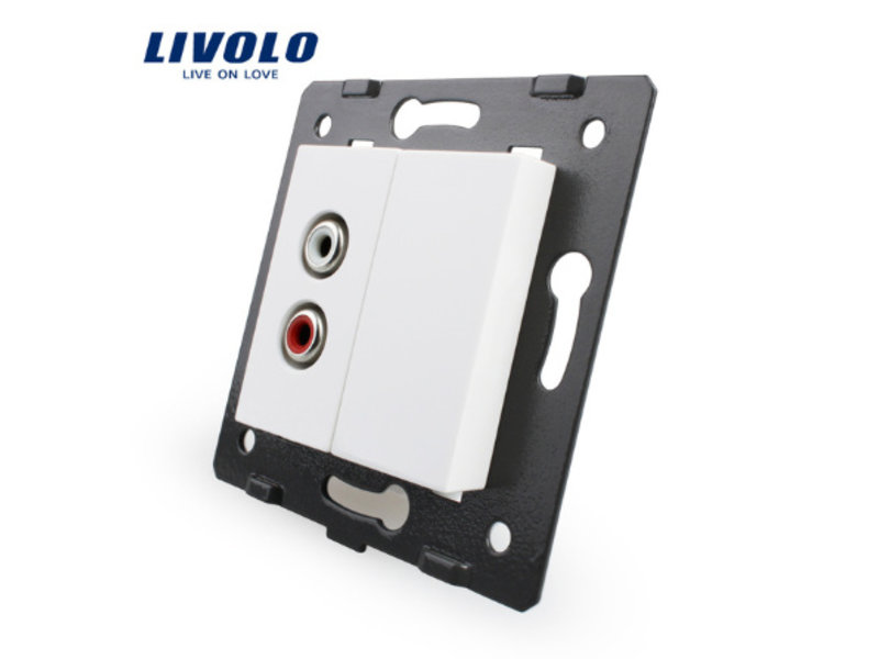 Livolo 1 X Design Audio Module | 1 Raam