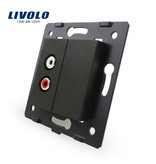 Livolo Design Module | Audio | 1 X Audio | 1 Hole