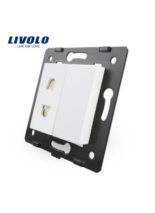Livolo Module | Wandcontactdoos | 1 X enkelvoudig