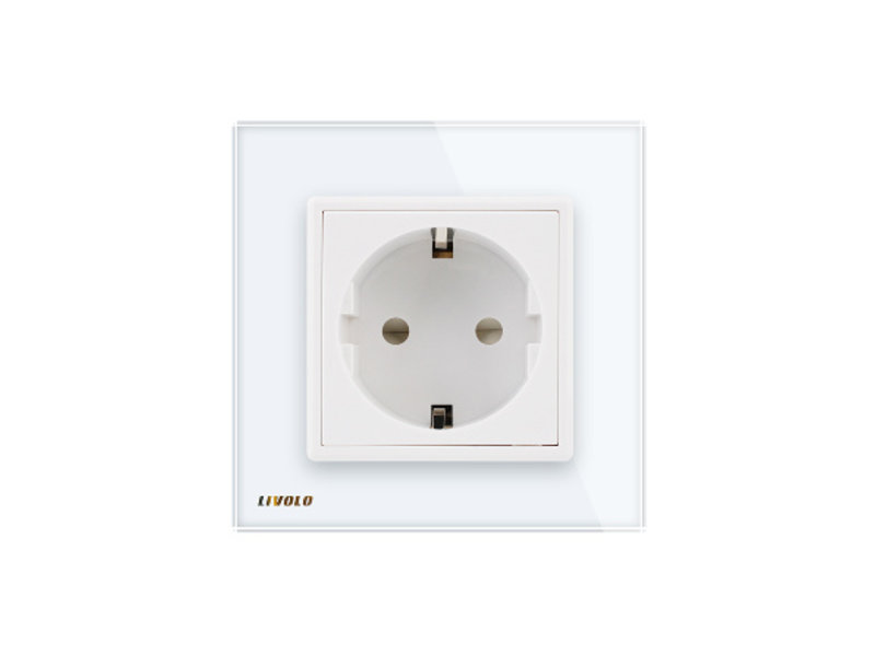 Livolo Design Socket | Single | 1 Hole | EU