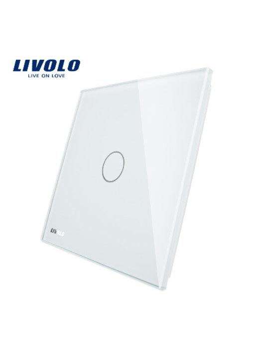 Livolo Glass Panel   1-Gang