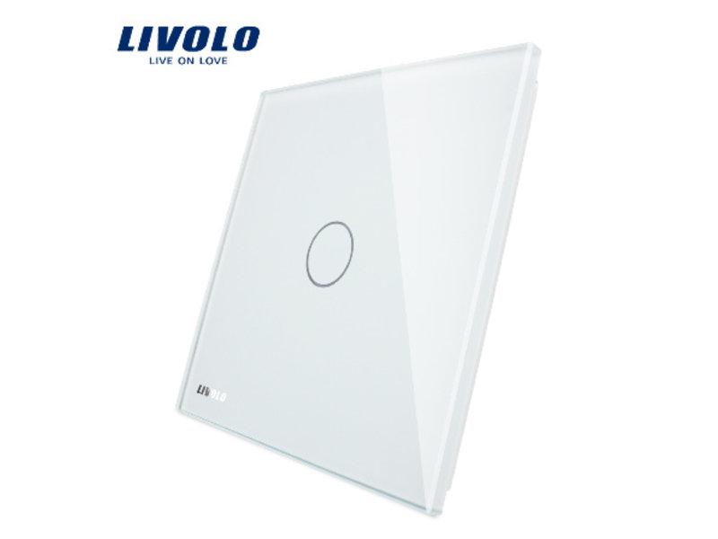 Livolo Design Glass Panel   1-Gang   1 Hole