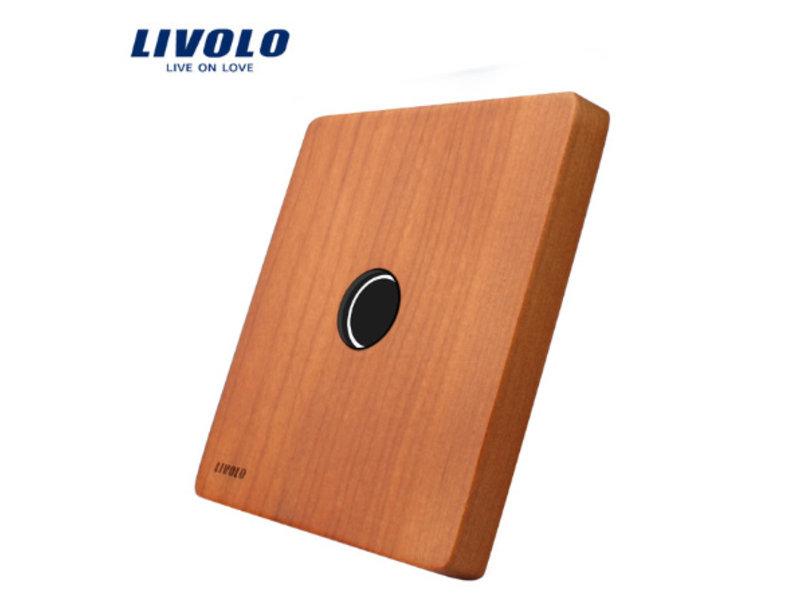 Livolo Design Glass Panel | 1-Gang | 1 Hole