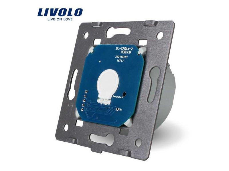 Design Touch-Schalter Module | unipolar | Geeignet für Fibaro | 1 Fach