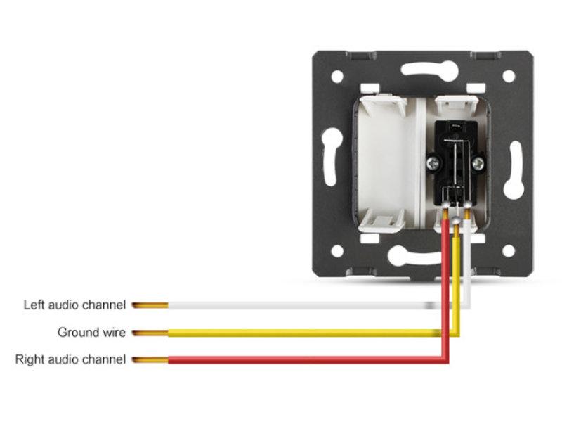 Design Module | Audio | 2 X Audio | 1 Hole - Copy