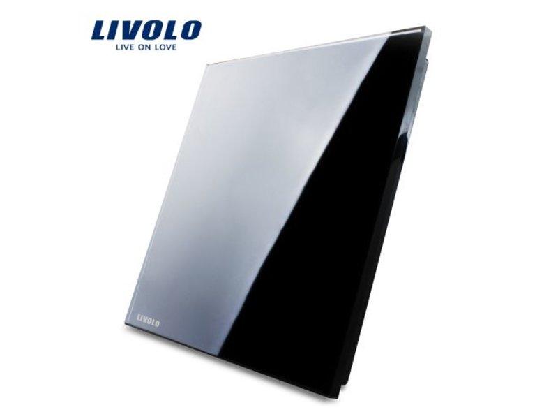 Livolo Design Glaspaneel | Blind Plaat | 1 Raams