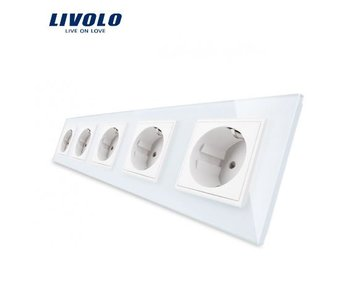 Livolo Socket | 5 Hole | EU