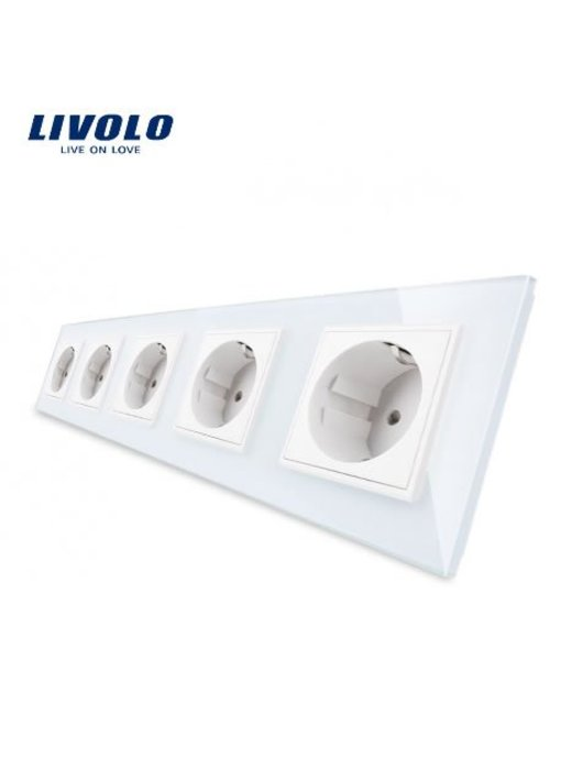 Livolo Socket | 5 Hole | EU