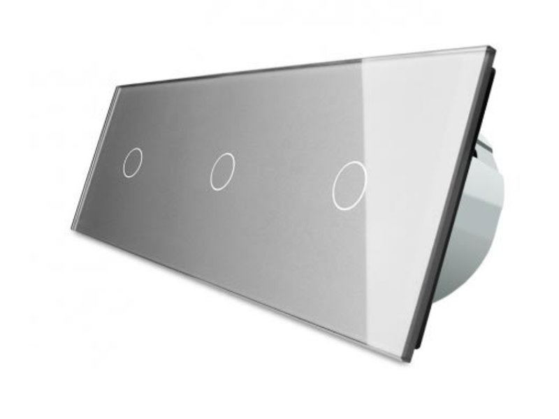Livolo Design Touch Dimmer | 3 x Enkelpolig | 3 Raams