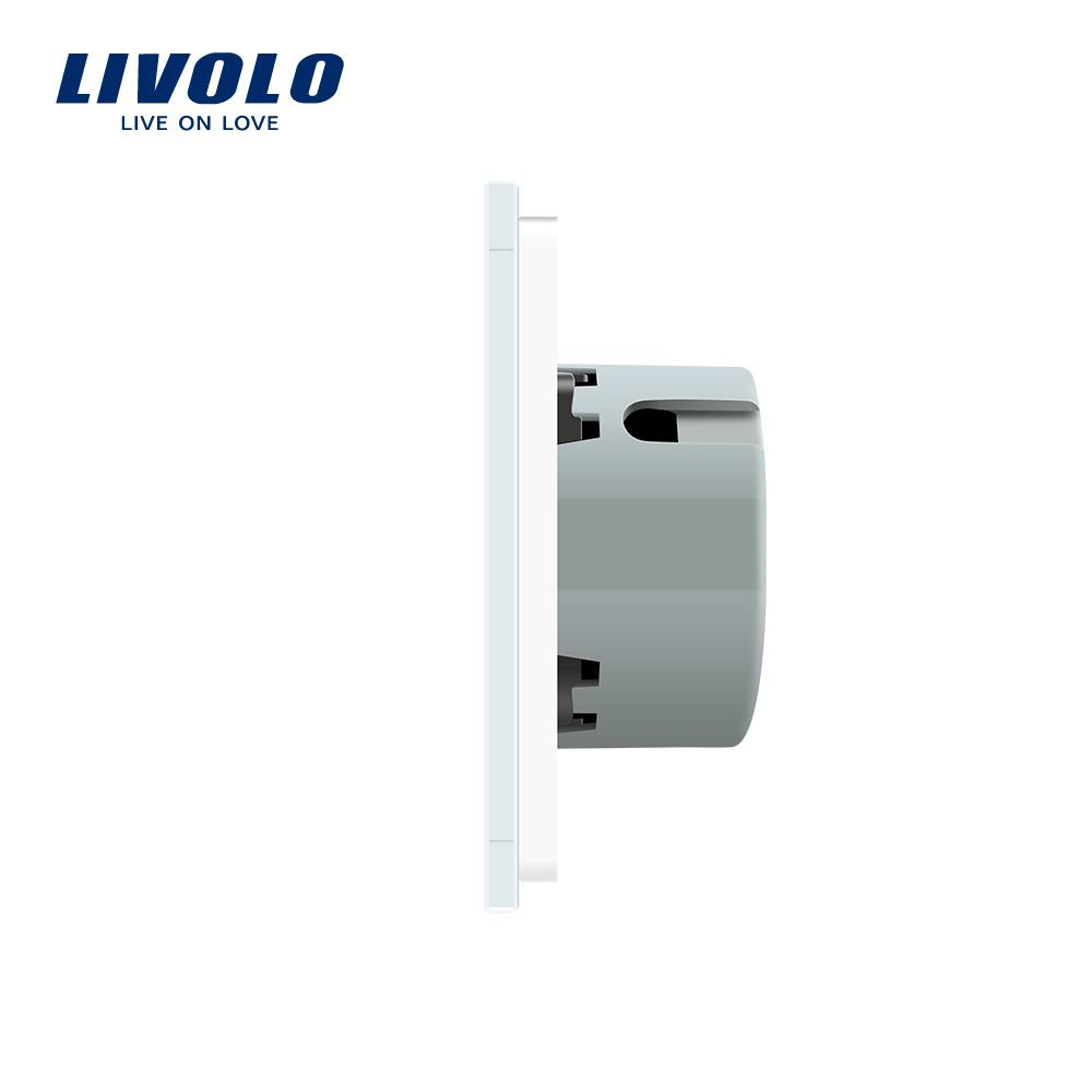 Livolo Design Touch Switch | 2 x 2 Gang 1 Way | 2 Hole - Touch ...
