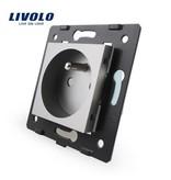 Livolo Design Wandcontactdoos Module | Enkelvoudig | FR