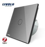 Design Touch Schalter | unipolar | 1-polig | 1 Fach  | Zigbee | Smart Home