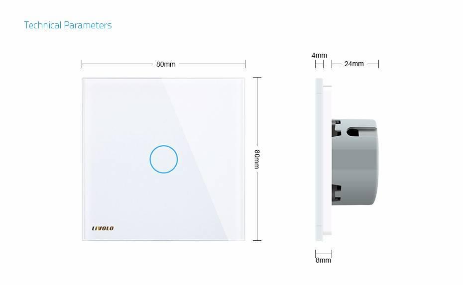 Details about  /Livolo Light Zigbee Smart EU Standard 1gang//2gang/&1way//2way Switch