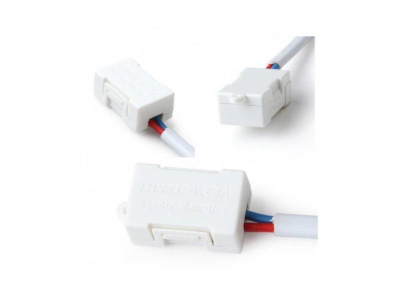 Ledadapter   Voor gebruik bij lampen van minder dan 5 Watt.