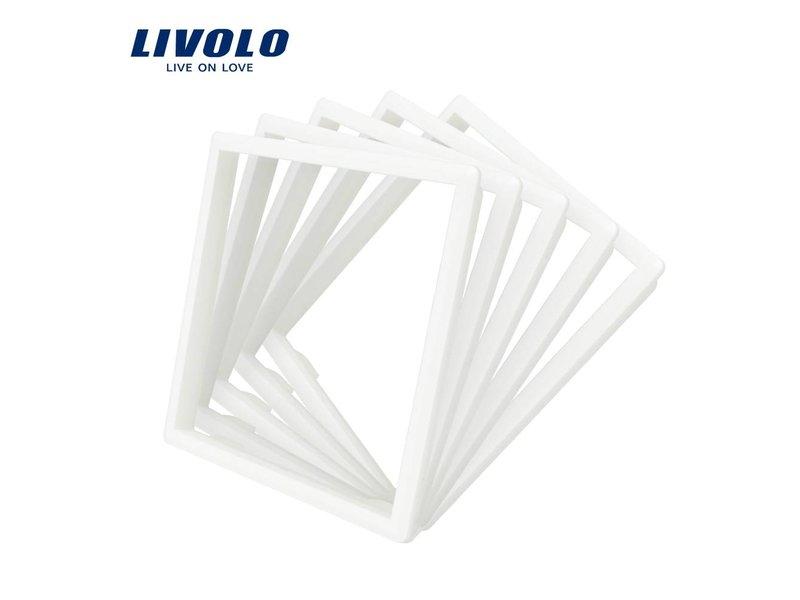 Livolo Frame | Modules (Frame ter vervanging van standaard frame in kleur van het glas)