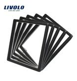 Rahmen | Steckdose (Rahmenkante ersetzen Standardchromrahmen Wandsteckdose)