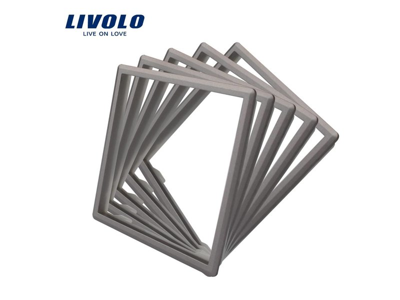 Livolo Frame Modules (Frame to replace standard frame in color of the glass)