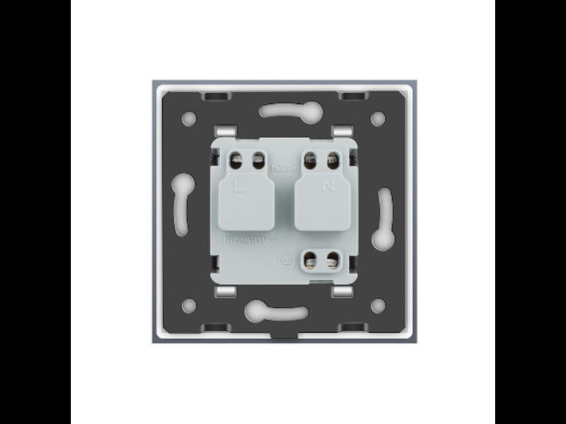 Design Socket | Single | 1 Hole | EU - Copy
