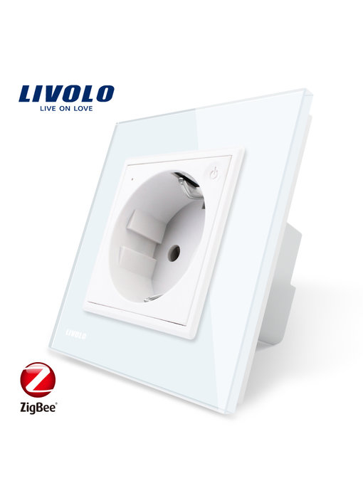 Livolo Socket outlet | Single | EU | Zigbee
