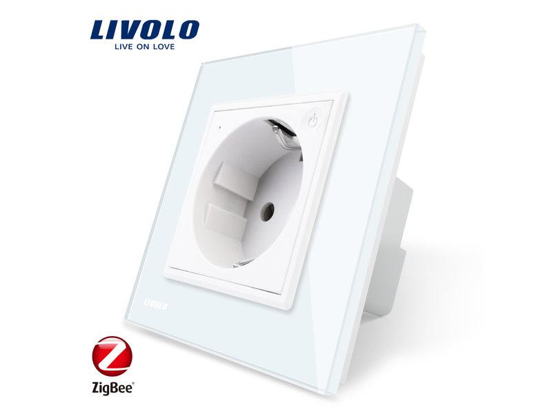 Livolo Design Wandcontactdoos | Enkelvoudig | 1 Raams | EU | Zigbee