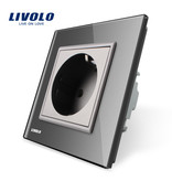 Livolo Design Wall socket | Single | 1 Hole | EU | Zigbee