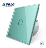 Livolo Design Touch-Schalter | 1-polig + Wechsel | 1 Fach