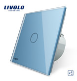 Livolo Design Touch Switch | 1-pole | 1 Gang 2 Way | 1 Hole