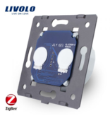 Livolo Design Touch Schakelaar Module |  Serie  | Tweepolig | 1-Raams | Zigbee | Smart Home