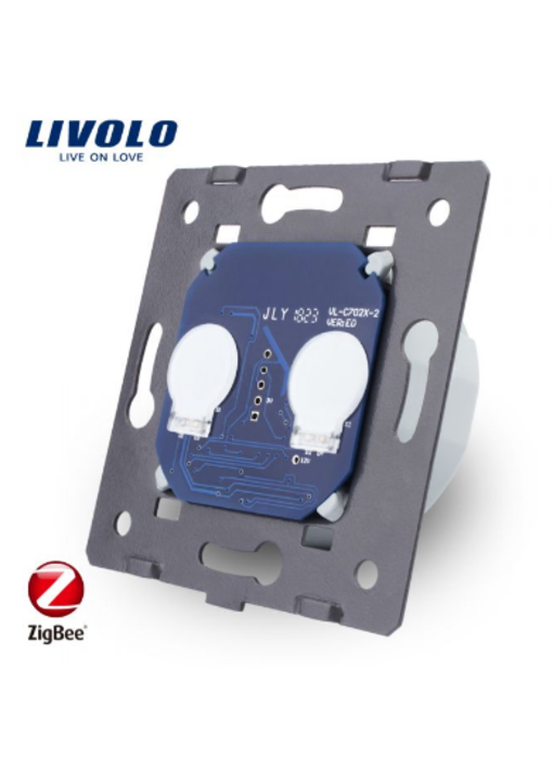 Livolo Module | Touch Switch | 2 Gang 1 Way | Zigbee