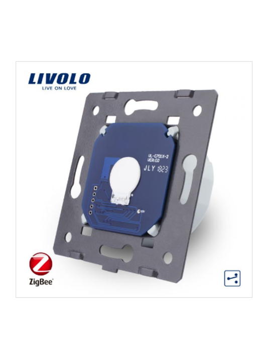 Livolo Module | Touch Switch | 1 Gang 2 Way | Zigbee