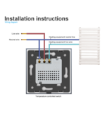 Design Thermostat Central heating (central)