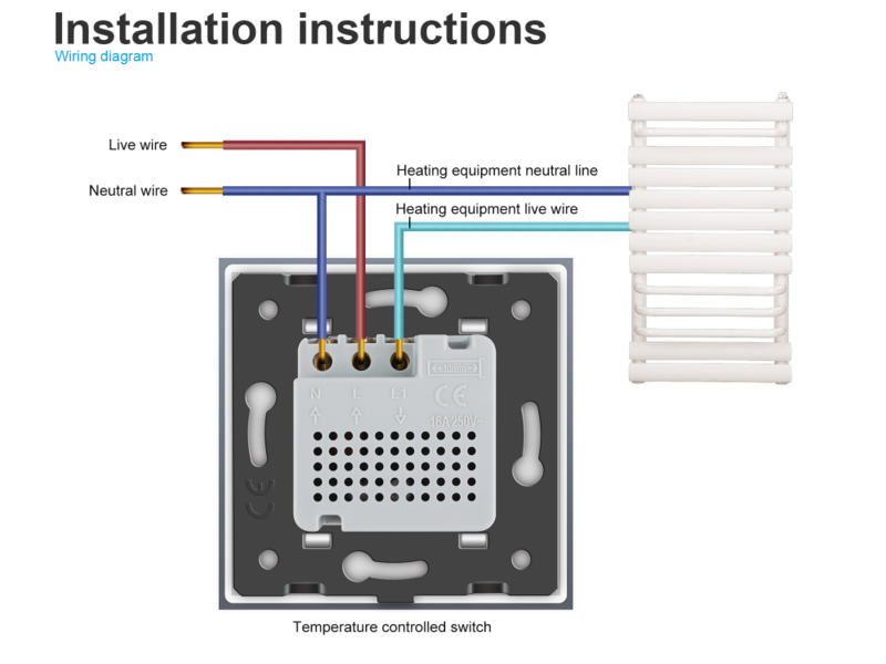 design thermostat central heating central