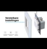 Design Touch Schakelaar | PIR | Bewegingsmelder | Enkelpolig