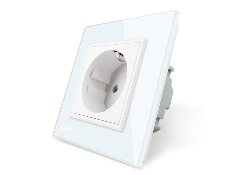 Design Socket   Single   1 Hole   EU