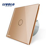 Design Touch Switch Single pole   Suitable for Fibaro   1 Hole