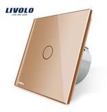Livolo Design Touch-Schalter | unipolar | Geeignet für Fibaro | 1 Fach
