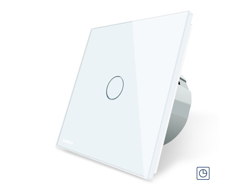 Design Touch Timer Switch | 1-pole | 1 Gang | 1 Hole