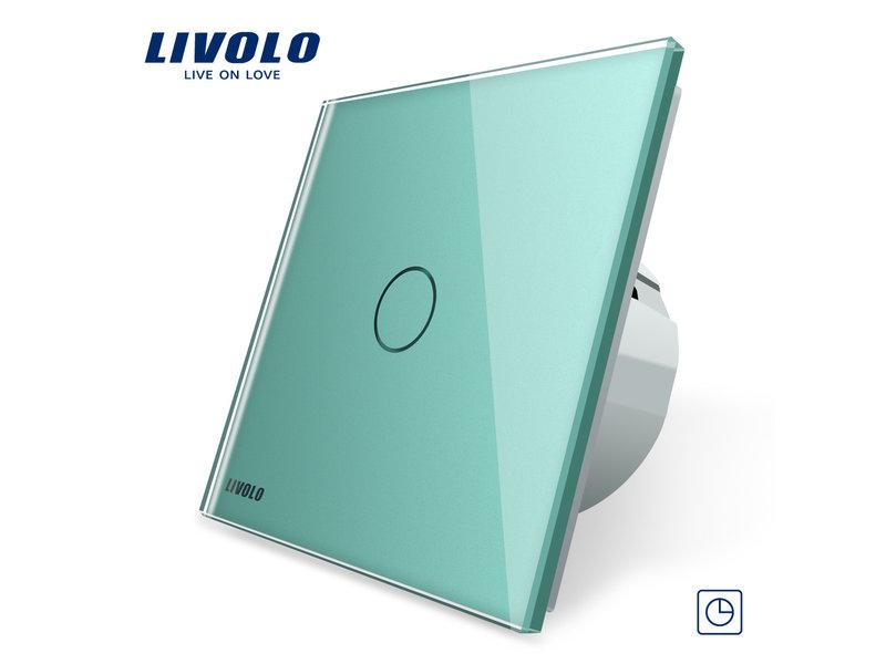 Livolo Touch Schakelaar | Timer | Enkelpolig | 1-polig | 1 Raam