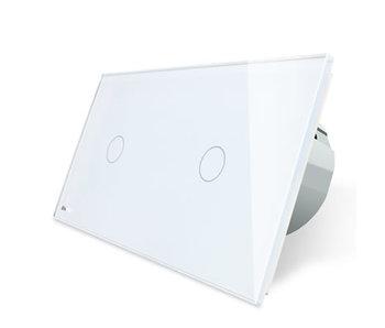 Livolo Touch Switch | 2 x Single pole