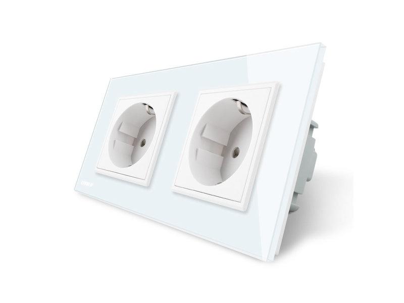 Design Socket | Dual | 2 Hole | EU