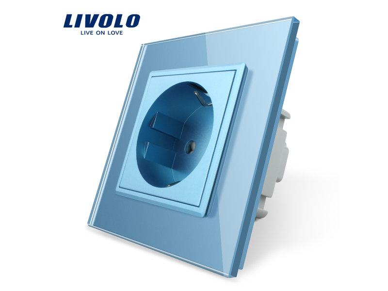 Livolo Design Wandcontactdoos | Enkelvoudig | 1 Raams | EU