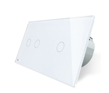 Livolo Touch Switch | 2-gang + 1-gang