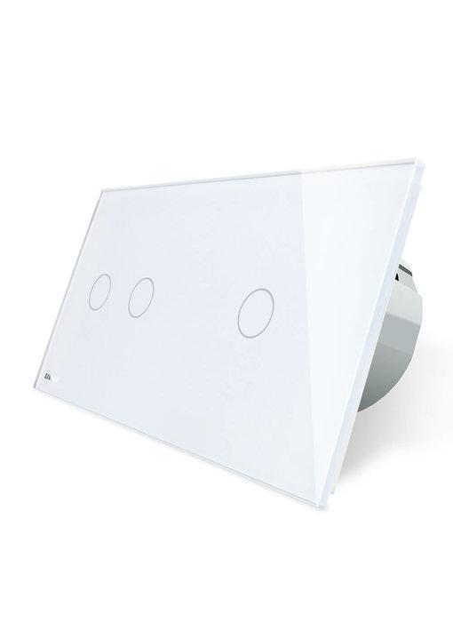 Livolo Touch-Schalter | 2-polig + 1-polig