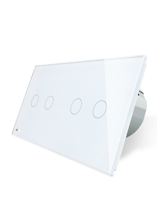Livolo Touch-Schalter | 2-polig + 2-polig