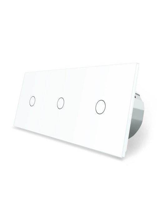 Livolo Touch Schakelaar | 3 x Enkelpolig