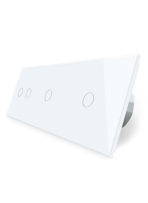 Livolo Touch Schakelaar | Serie + 2 x Enkelpolig
