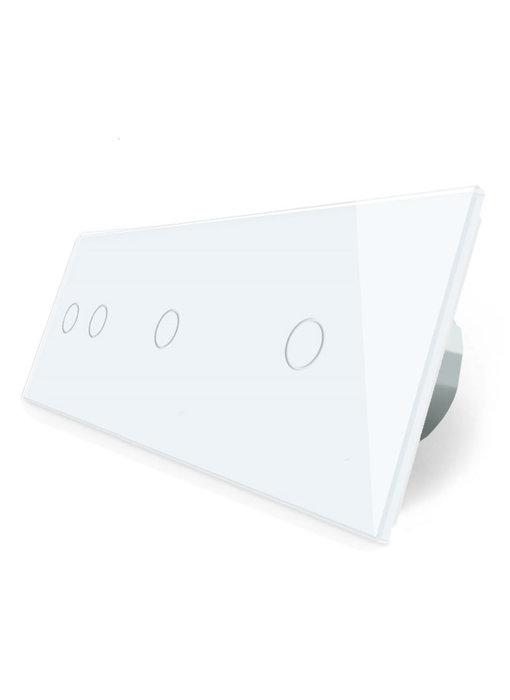 Livolo Touch-Schalter | 2-Polig + 2 x 1-Polig